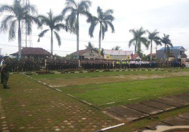 Bupati Tanjab Barat Pimpin Apel Gelar Pasukan Ops Ramadaniya 2017