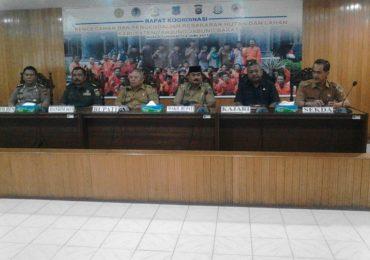 Bupati Tanjab Barat Pimpin Rapat Kordinasi Pencegahan dan Pengendalian Kebakaran Hutan dan Lahan